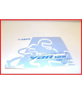 YAMAHA YBR 125 2005 MANUEL /NOTICE UTILISATEUR-NEUF