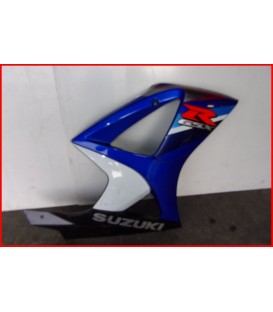 "SUZUKI GSXR 1000 2007-2008 FLANC DE CARENAGE DROIT ""rayures""-OCCASION"
