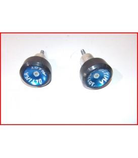"HONDA CBR 900 954 2002-2003 ROULETTES DE PROTECTION petites rayures"" -OCCASION"