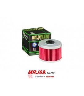 FILTRE A HUILE HF132moto suzuki dr 125 se, x, y 1998-2000