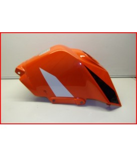 """KTM RC 125 2019 COUVRE RESERVOIR """"rayures"""" -OCCASION"""