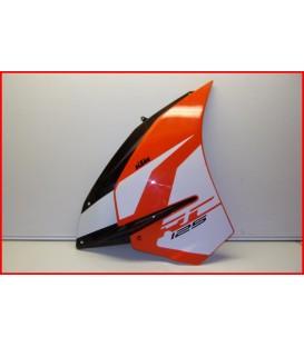 """KTM RC 125 2019 FLANC DE CARENAGE DROIT """"griffures"""" -OCCASION"""